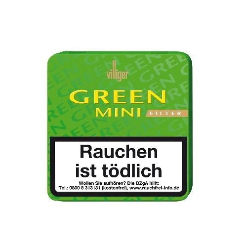 Villiger Green Mini Filter 20 Zigarillos