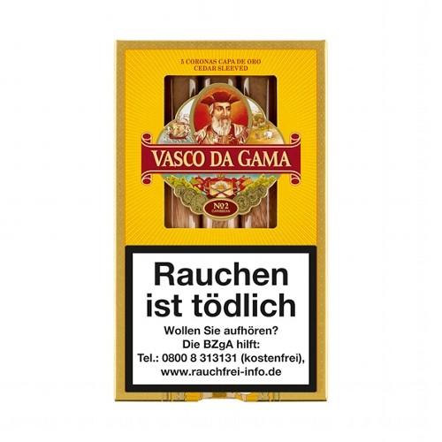 Vasco da Gama No.2 Caribbean Capa de Oro Corona 5 Zigarren