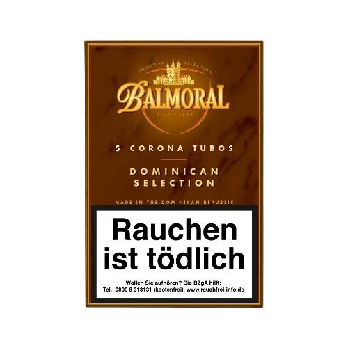 Balmoral Dominican Selection Corona Tubos 5 Zigarren