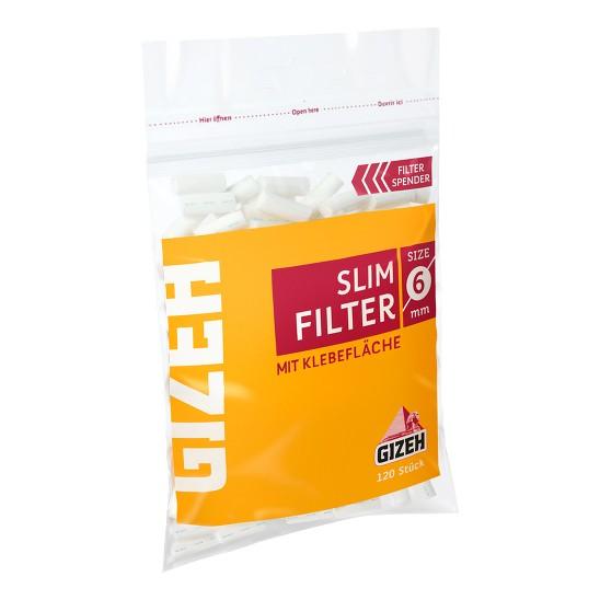 Zigarettenfilter Gizeh Slim 1 Beutel à 120 Filter
