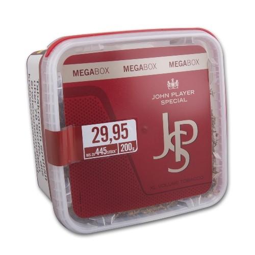 JPS Red Zigarettentabak XL Volume Tobacco 200 Gramm