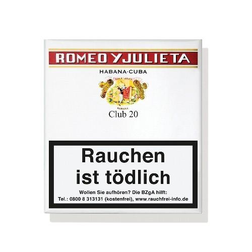 Romeo y Julieta Club 20 Zigarillos