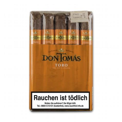 Don Tomás Honduras Toro Bundle 5 Zigarren