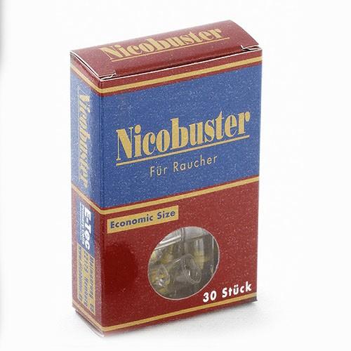 Filteraufsatz für Zigaretten Nicobuster Packung à 30 Stück