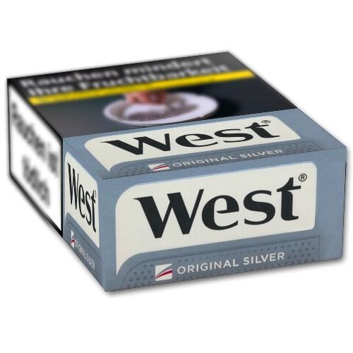 Zigaretten West Silver (4x37)