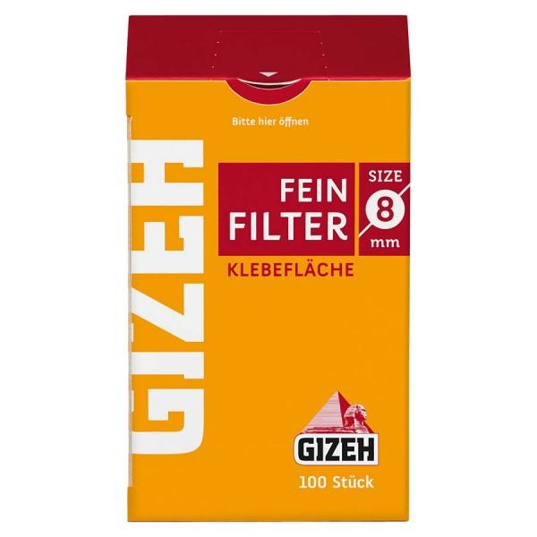 Zigarettenfilter Gizeh 1 Päckchen à 100 Feinfilter