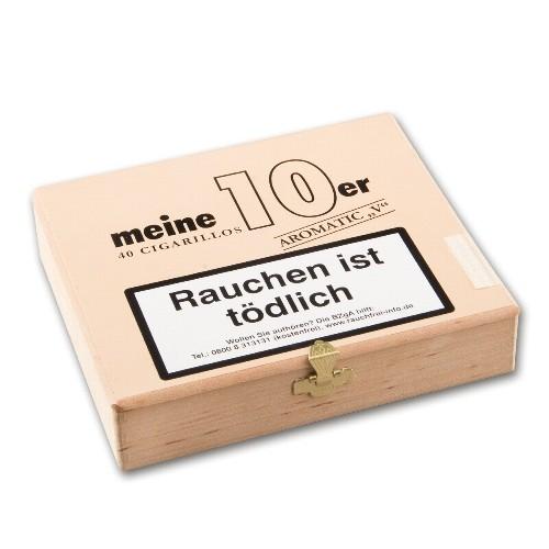 "Zigarillos Meine 10er Aromatic ""V"" (Vanilla)"