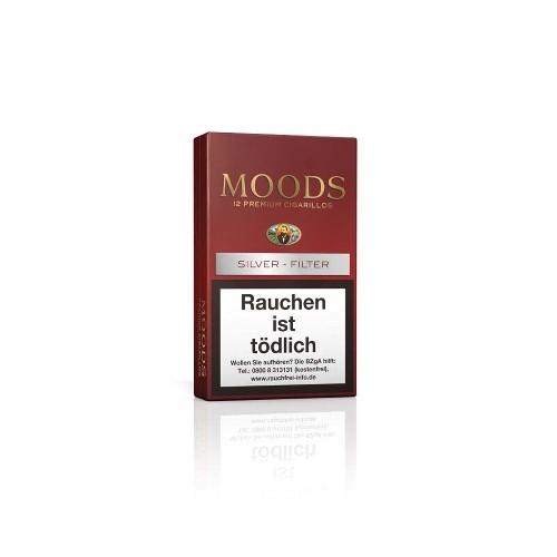 Dannemann Moods Silver Filter 12 Zigarillos