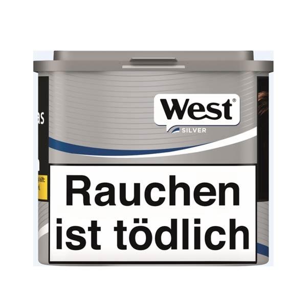 West Zigarettentabak Silver Volumen Dose 42 Gramm