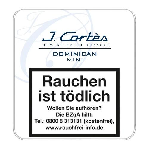 J. Cortès Dominican Mini 10 Zigarillos