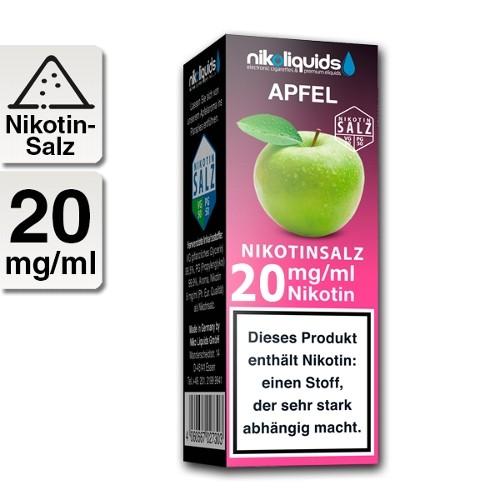 E-Liquid Nikotinsalz NIKOLIQUIDS Apfel 20 mg/ml