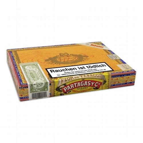 Partagas de Luxe Tubos 10 Zigarren