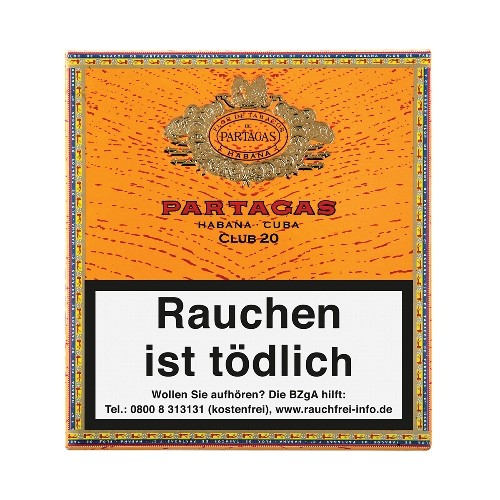 Partagas Club 20 Zigarillos