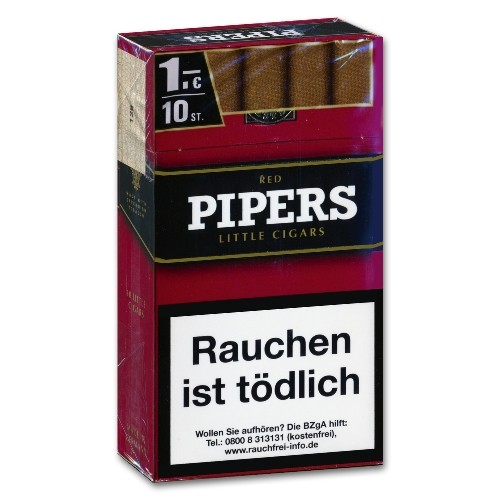 Pipers Little Cigars Cherry/Red 100 Zigarillos