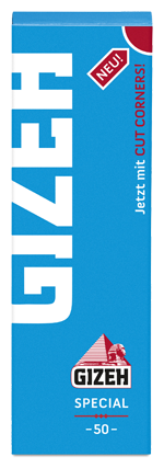 Zigarettenpapier Gizeh Special 5 Heftchen à 50 Blättchen