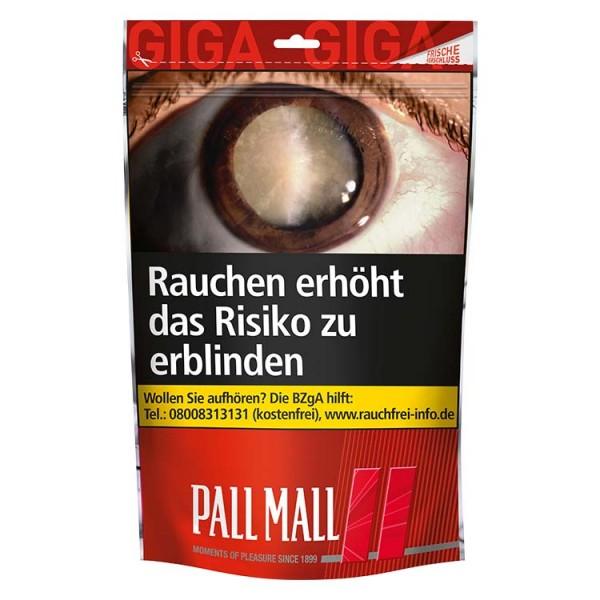 Pall Mall Zigarettentabak Red Volumen Giga-Beutel 125 Gramm