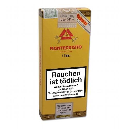 Montecristo Tubos 3 Zigarren
