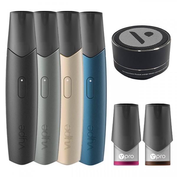 E-Zigarette VYPE ePen 3 Starterset + Bluetooth Lautsprecher