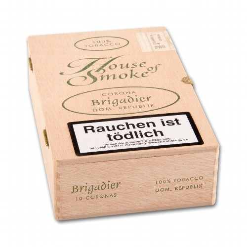 House of Smoke Brigadier 10 Zigarren