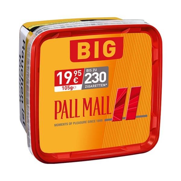 Pall Mall Zigarettentabak Allround Red Big Box 105 Gramm