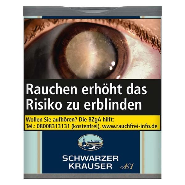 Zigarettentabak Schwarzer Krauser No.1 85 Gramm ( Dose )