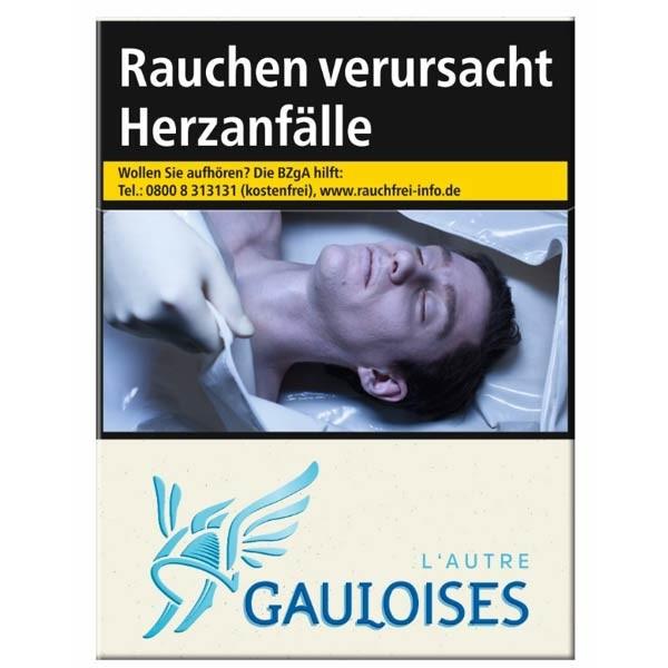 Gauloises Zigaretten Blondes Weiss (10x20)