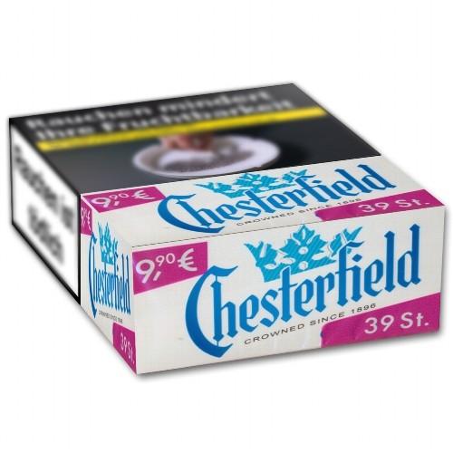 Chesterfield Zigaretten Blue Giga-Box (8x34)