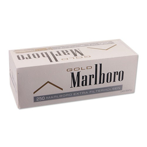 Zigarettenhülsen Marlboro Gold Extra 250 Stück