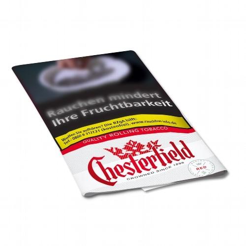 Chesterfield Red Zigarettentabak Feinschnitt 30 Gramm