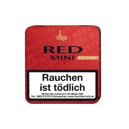Villiger Red Mini Red Filter 20 Zigarillos