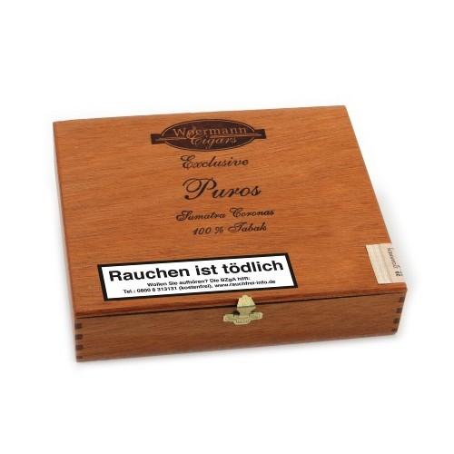 Exclusive Puros Sumatra 20 Zigarren