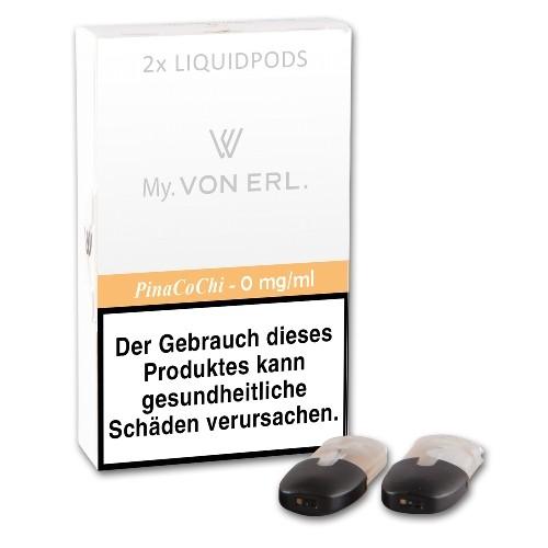 Cartomizer VON ERL. My PinaCoChi nikotinfrei 2 Liquidpods à 2 ml