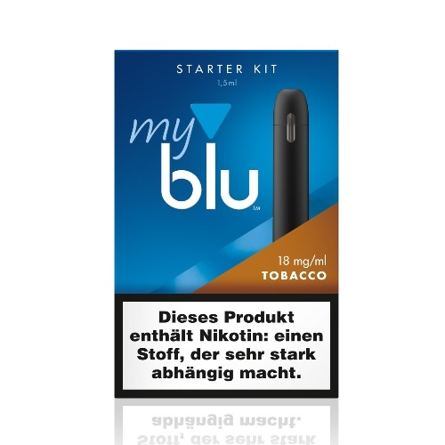 myblu - die E-Zigarette ohne Tabak, aber 100 % Geschmack + Liquidpod