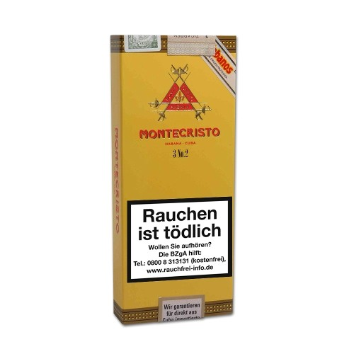Montecristo No.2 Pirámide 3 Zigarren