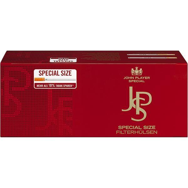 Zigarettenhülsen JPS Red Special Size 1.000 Stück