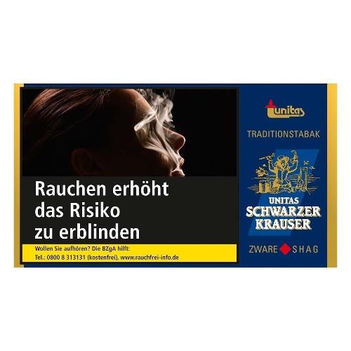 Zigarettentabak Unitas Schwarzer Krauser 30 Gramm