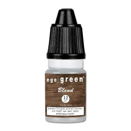 E-Liquid egogreen Blend 12 mg/ml Flasche 10 ml