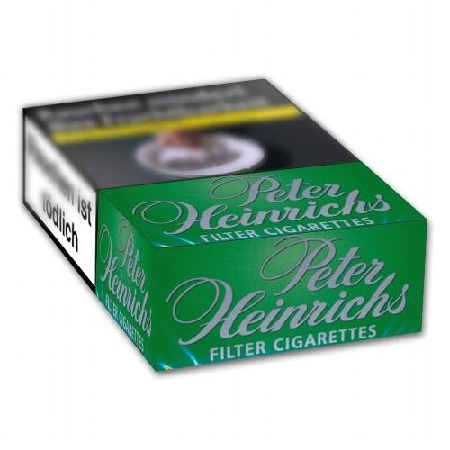 Zigaretten Peter Heinrichs Grün Menthol (10x20)