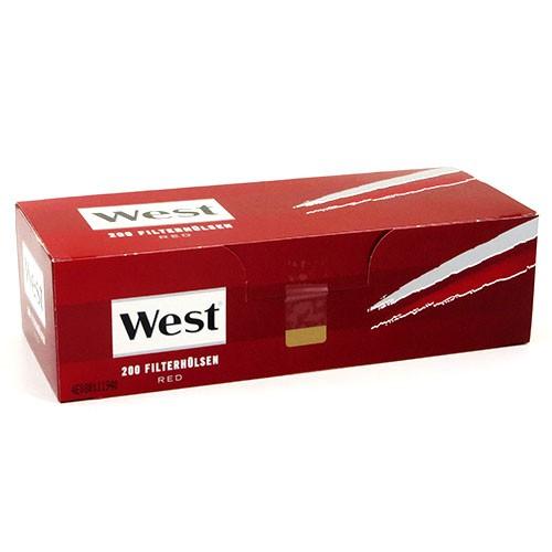 Zigarettenhülsen West Red King Size 200 Stück