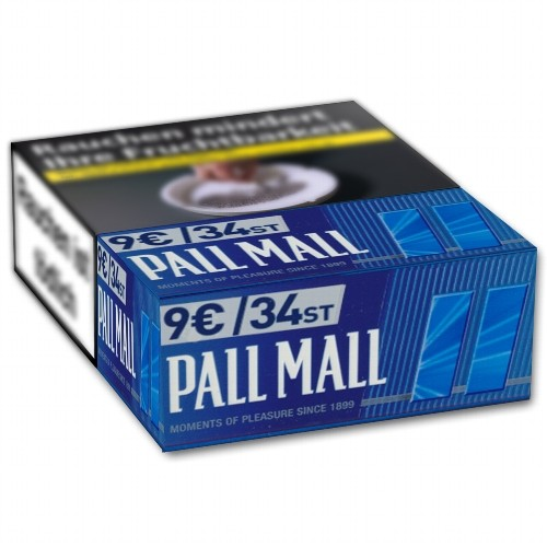 Zigaretten Pall Mall Blue (8x34)