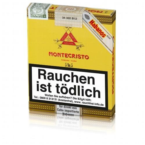 Montecristo No.5 Perla 5 Zigarren
