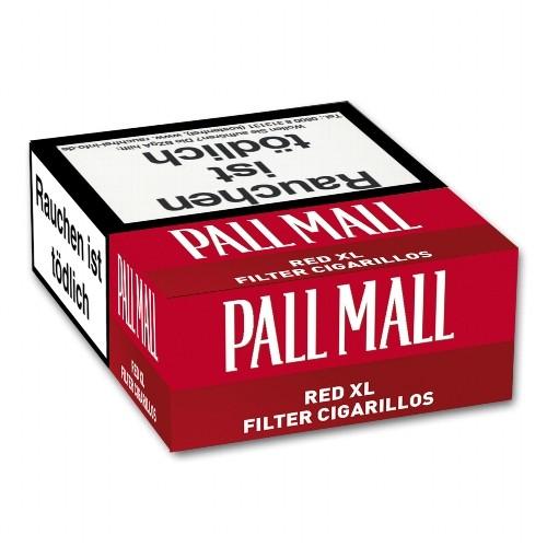 Pall Mall Red Naturdeckblatt Filterzigarillos (10x17)