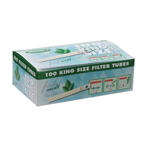 500 Zigarettenhülsen mit frischem Menthol-Geschmack