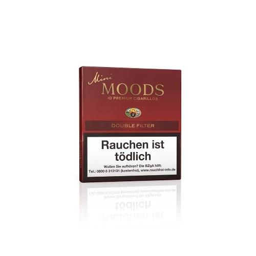 Dannemann Moods Mini Double Filter 10 Zigarillos