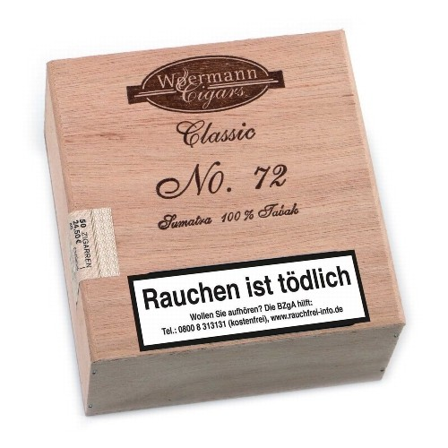 Classic No.72 Sumatra 50 Zigarillos