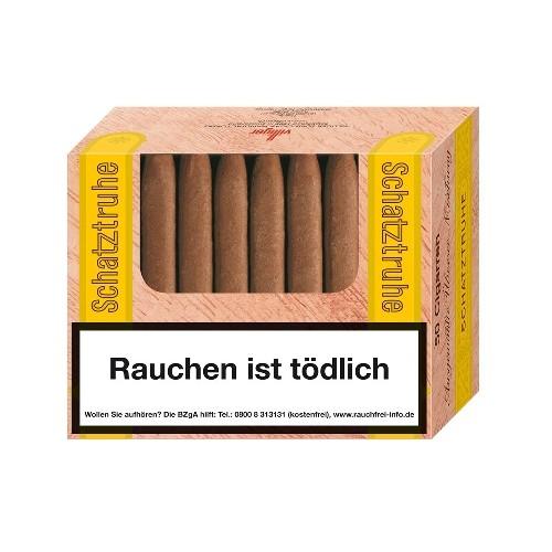 Schatztruhe 50 Zigarillos