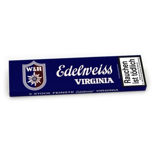 Edelweiss Virginia Blau 5 Zigarren
