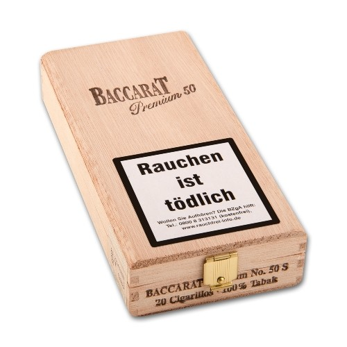 Baccarat Premium No.50 Sumatra 20 Zigarillos