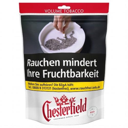 Chesterfield Red Zigarettentabak Volumen 150 G Tabak Börse24de