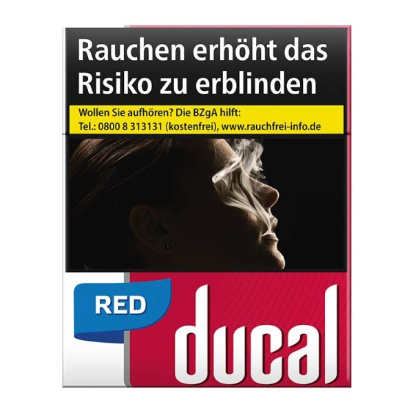 Ducal red Zigaretten 22